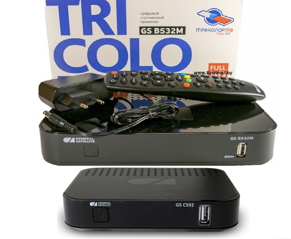 триколор 2 телевизора